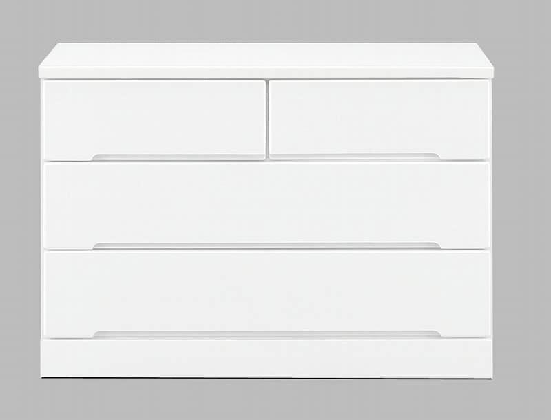 ローチェスト アトリエ 105−3L WH
