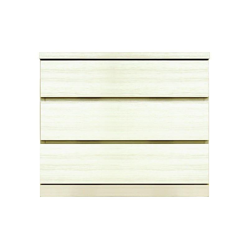 ローチェスト シルフ−フィット 70−3段チェスト(奥行き:55cm)ホワイト:【シンプルだけど上質クローゼット収納チェスト「シルフーフィット」