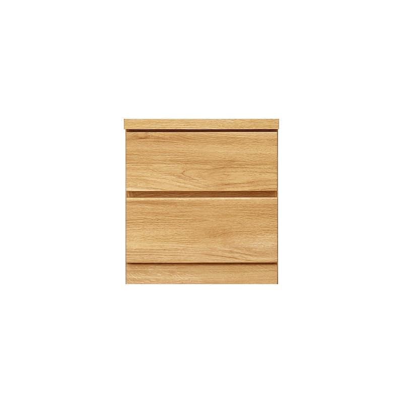 ローチェスト シルフ−フィット 40−2段チェスト(奥行き:44cm)オーク:【シンプルだけど上質クローゼット収納チェスト「シルフーフィット」