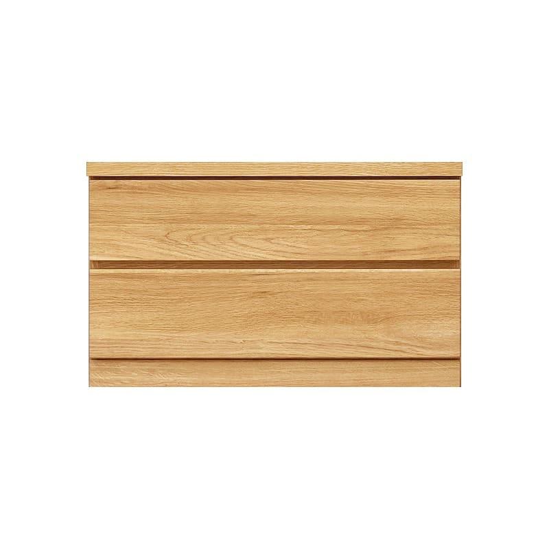 ローチェスト シルフ−フィット 70−2段チェスト(奥行き:44cm)オーク:【シンプルだけど上質クローゼット収納チェスト「シルフーフィット」