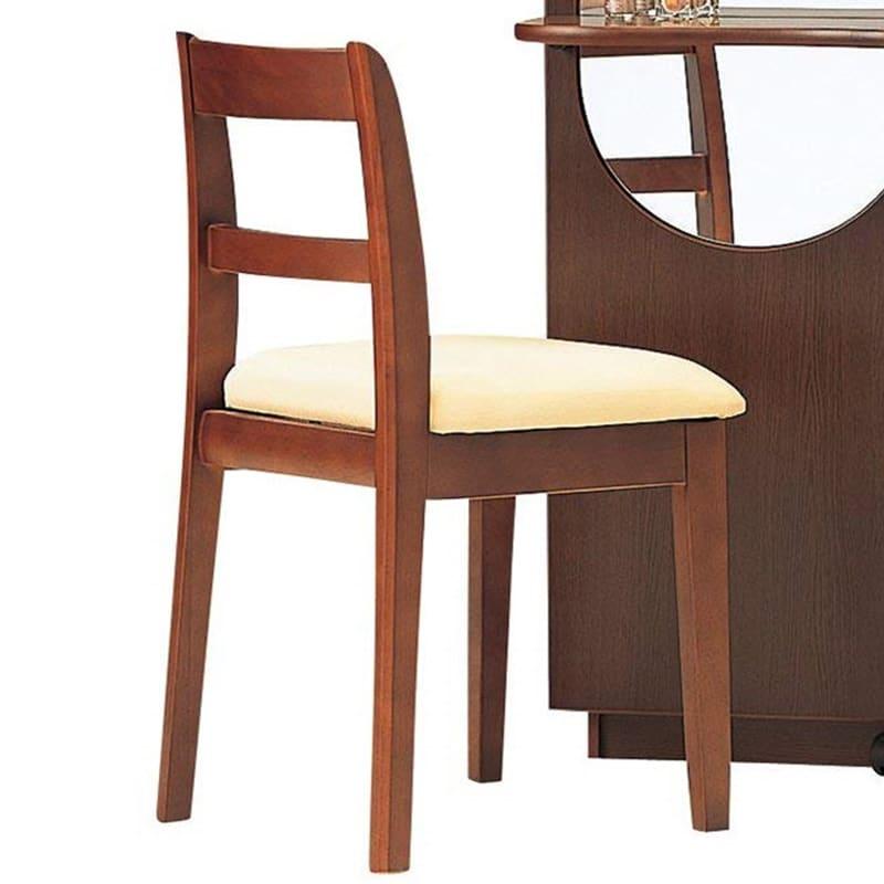 ドレッサーチェア スマート 椅子(ナラ):ドレッサーチェア スマート