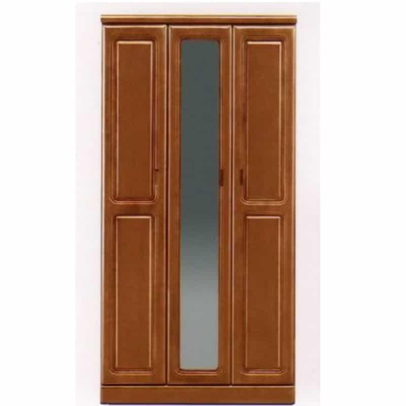 【ネット限定】シューズボックス モコ�V90H(NA):◆前板は天然木ラバーウッド無垢材を使用しています。