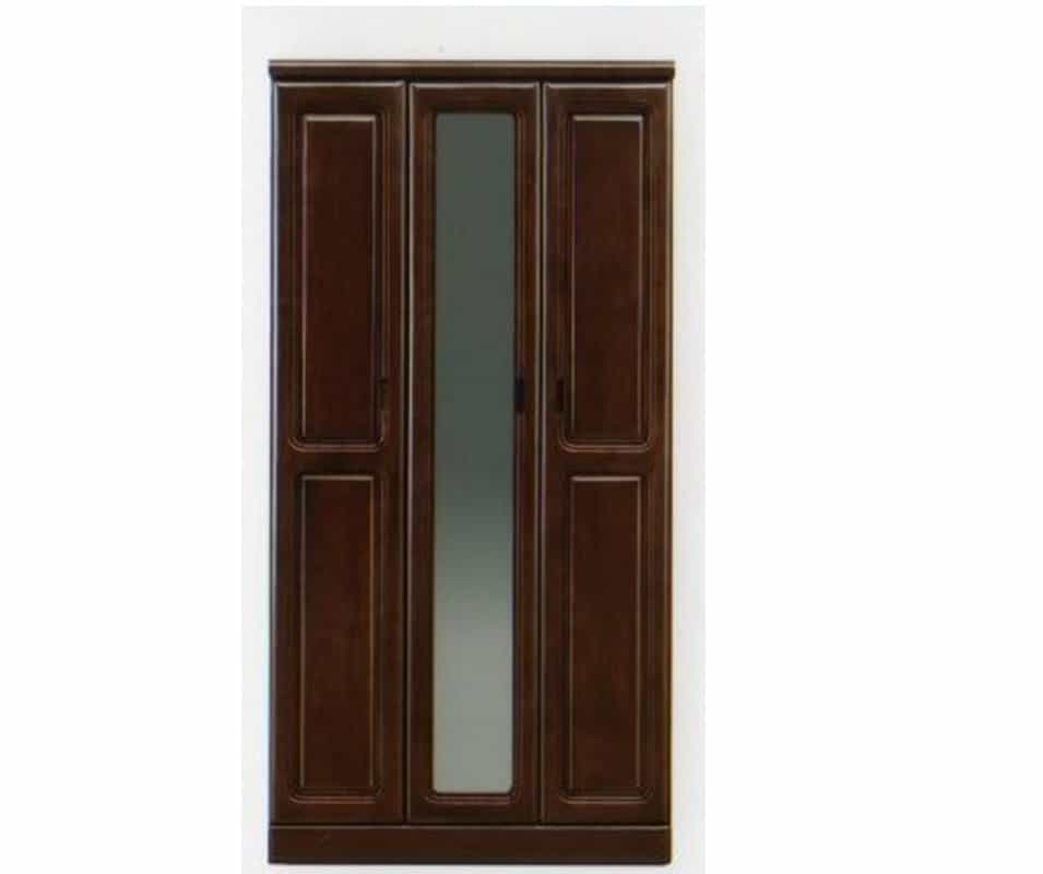 【ネット限定】シューズボックス モコ�V90H(BR):◆前板は天然木ラバーウッド無垢材を使用しています。
