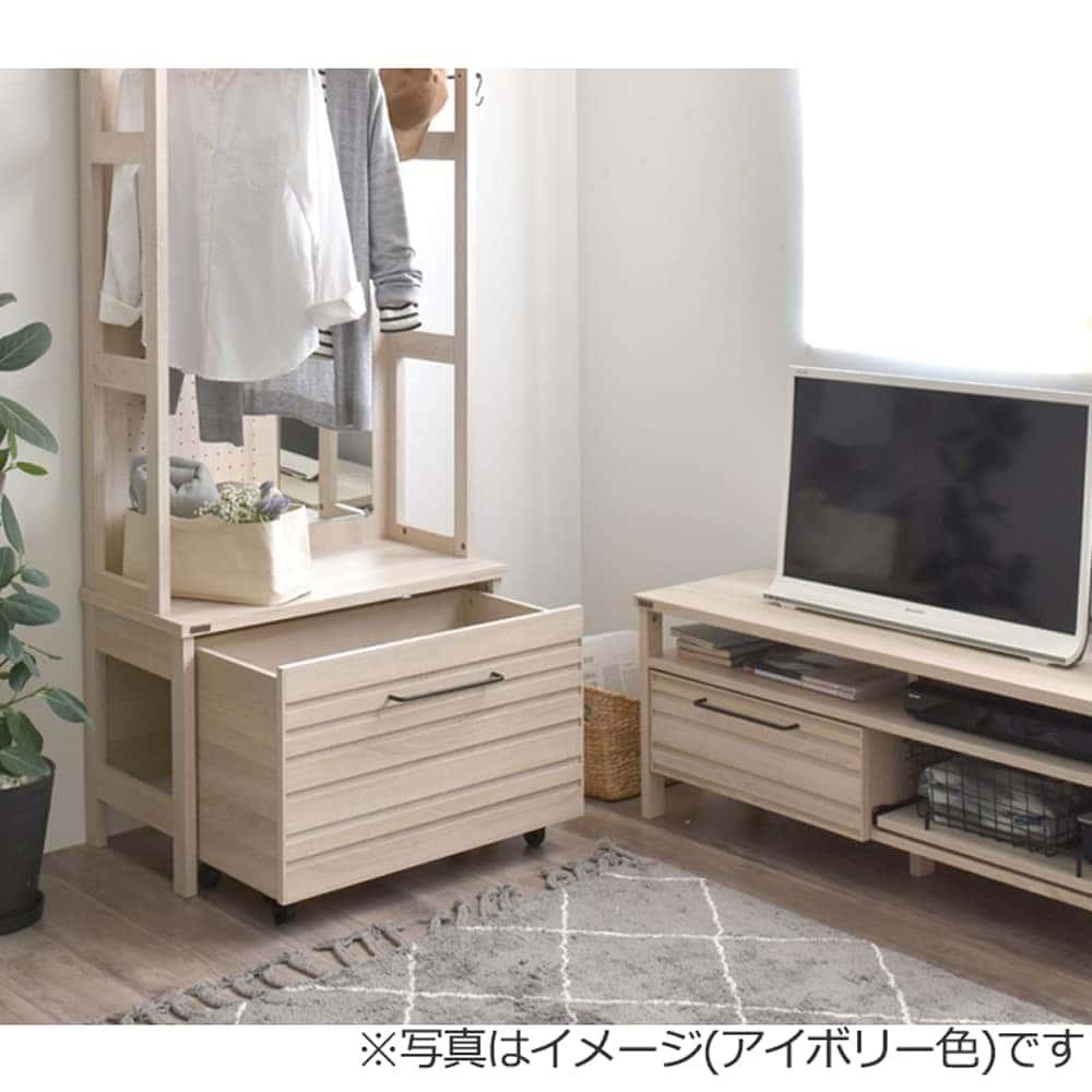 ハンガーラック【お客様組立商品】 LAFIKA LF180−80H IV(アイボリー)