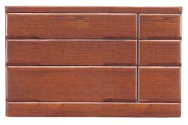 【ネット限定】ローチェスト 桐子403Bローチェスト:桐材を使用した整理たんすシリーズです