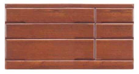 【ネット限定】ローチェスト 桐子503Bローチェスト:桐材を使用した整理たんすシリーズです