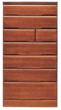 【ネット限定】ハイチェスト 桐子25整理:桐材を使用した整理たんすシリーズです