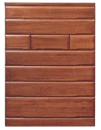 【ネット限定】ハイチェスト 桐子35重ね整理:桐材を使用した整理たんすシリーズです