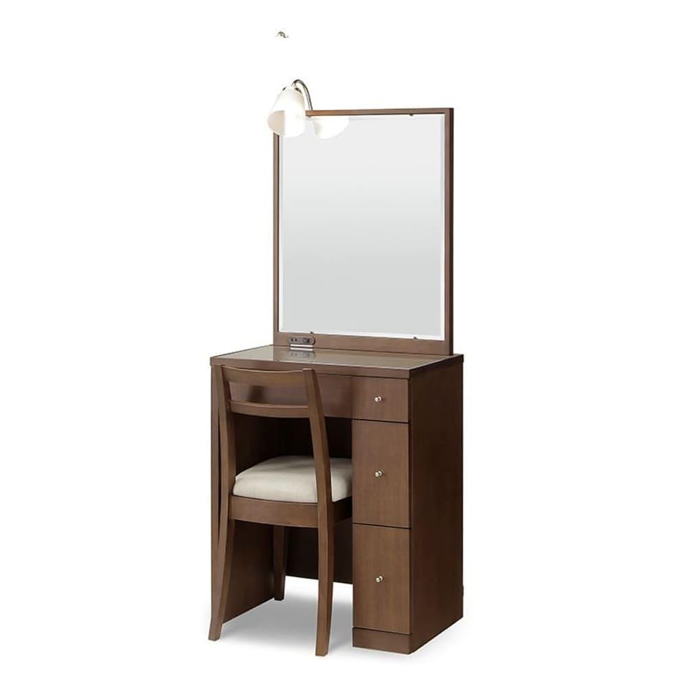 ドレッサー カプリス 一面鏡 WN(ウォールナット)