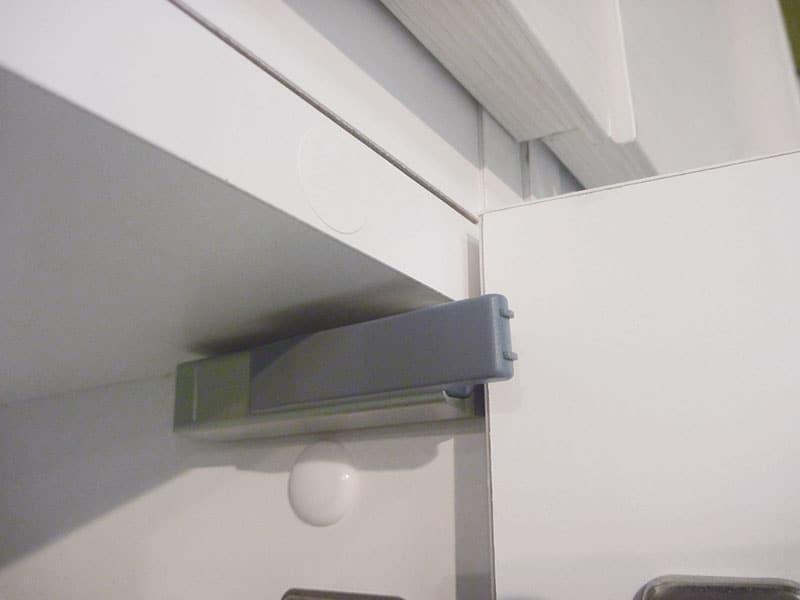 ポルターレ シューズボックス ハイタイプ PRE−1860D WH