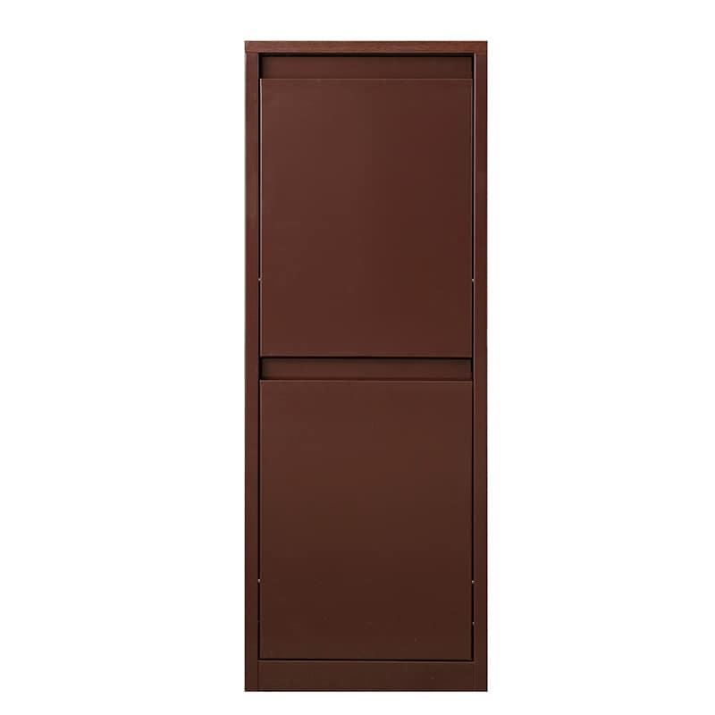 分別ダストボックス YY−WSB−42H縦2分別(大) BN:お部屋に馴染む、暖かみのある木目調の仕上がりです。