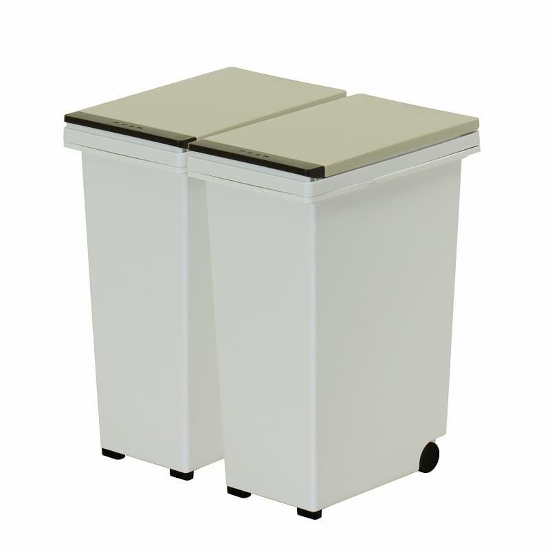 オプション品 ダストボックスDB−15L 2個セット ベージュ:株式会社エスエークラフト様 取扱オプション品
