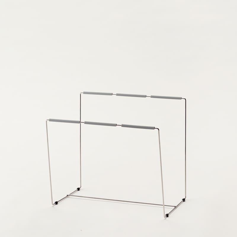 ダストスタンド(W600引出収納用) ZD−63 シルバー:【パモウナ用 食器棚用オプション品】