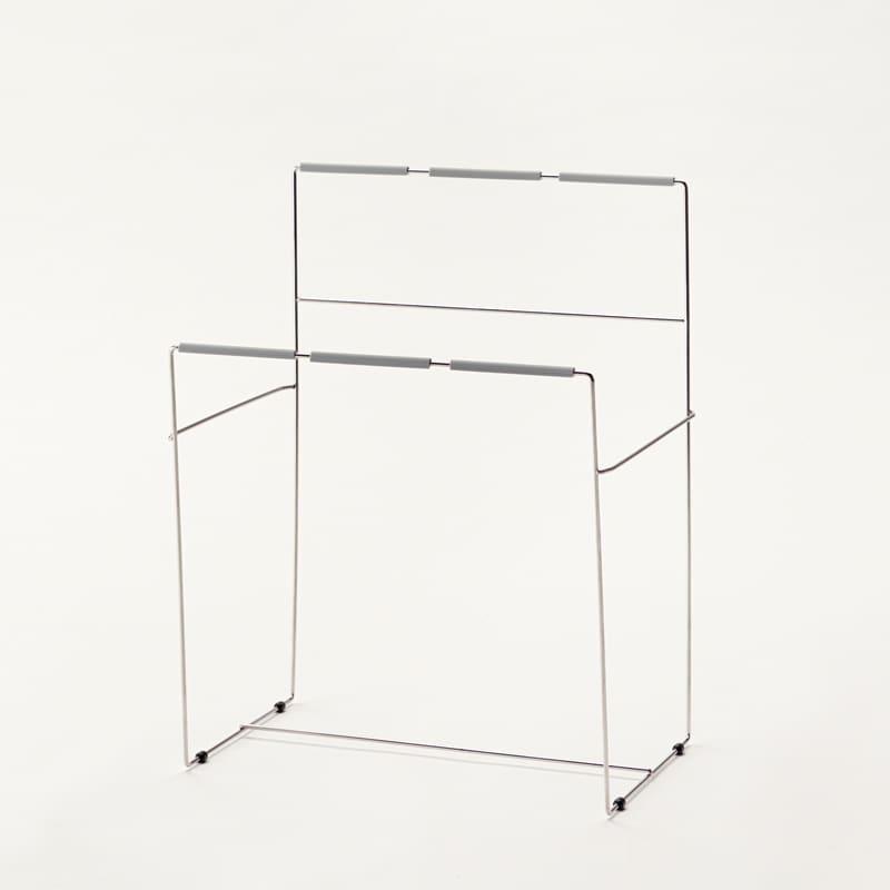 ダストスタンド(W600オープン部用) ZD−65 シルバー:【パモウナ用 食器棚用オプション品】