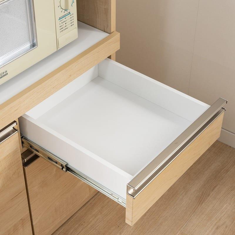 レンジ台 マテリア 70A ミニ食器棚/幅70cm(WH):引出の秘密