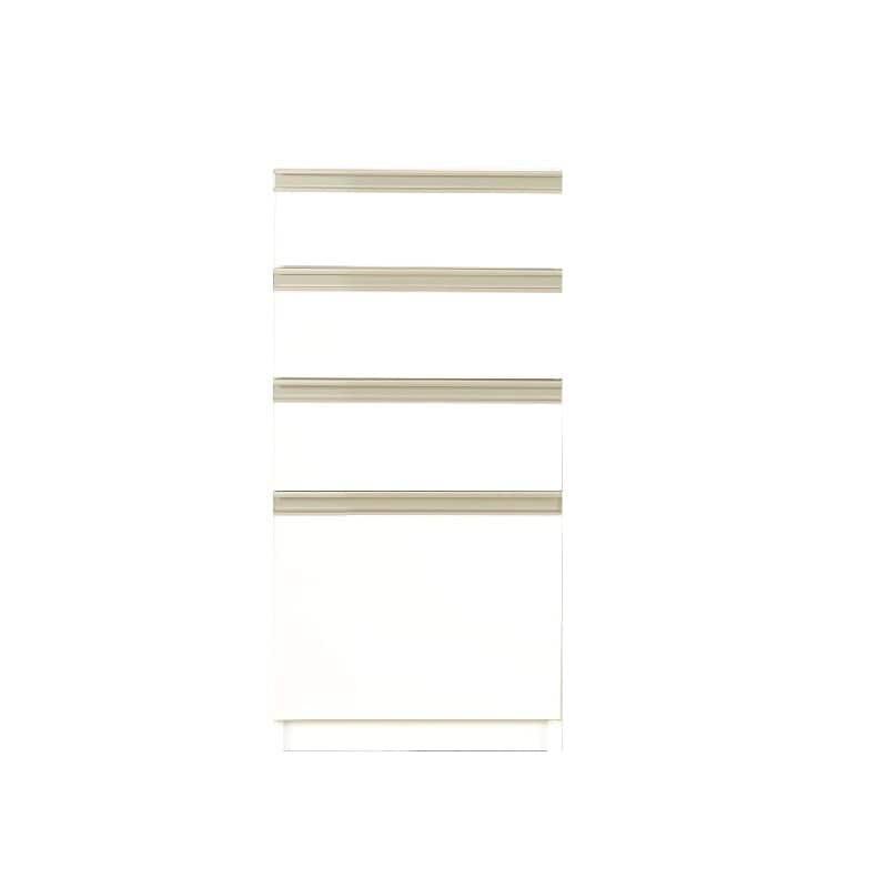 カウンターリンク 40H 引出ホワイト:ライフスタイルに合わせてアイテムをチョイス
