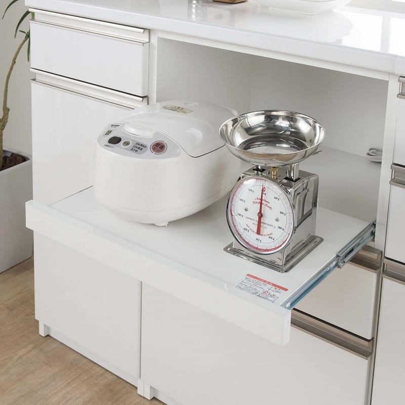 カウンターリンク 40R レンジホワイト:家電収納