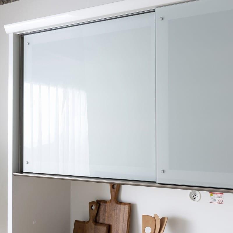 :引戸は安心の飛散防止ガラス