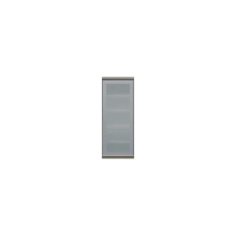 上台(ガラス扉/左開き)SC−40KL Wパールホワイト:《お客様の理想が詰まった食器棚「SCシリーズ」》