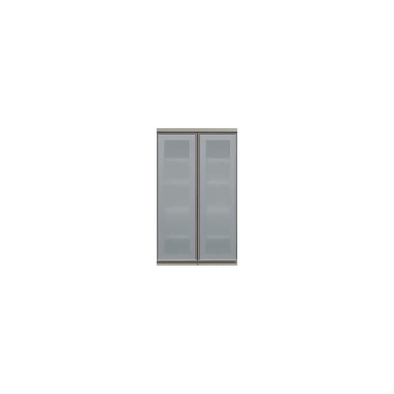 上台(ガラス扉/観音開き)SC−60K Wパールホワイト:《お客様の理想が詰まった食器棚「SCシリーズ」》