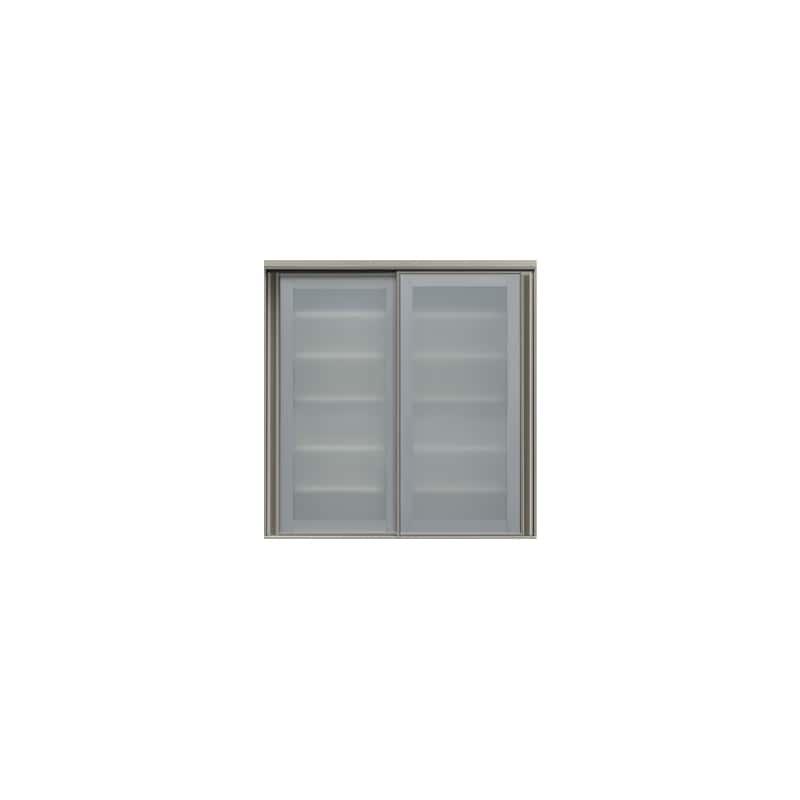 上台(ガラス扉/大引戸)SC−100K Wパールホワイト:《お客様の理想が詰まった食器棚「SCシリーズ」》