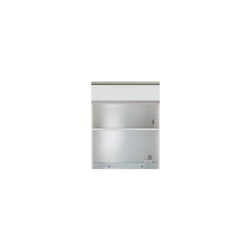 上台(家電収納)SC−87R Wパールホワイト:《お客様の理想が詰まった食器棚「SCシリーズ」》
