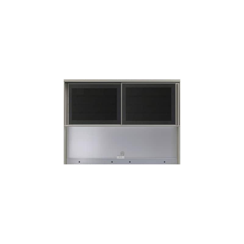 上台(オープン)SC−140R Bブラックグレイン:《お客様の理想が詰まった食器棚「SCシリーズ」》