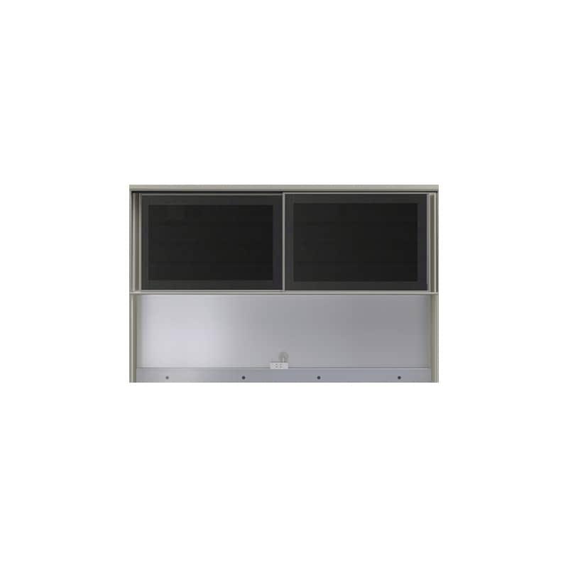 上台(オープン)SC−160R Bブラックグレイン:《お客様の理想が詰まった食器棚「SCシリーズ」》