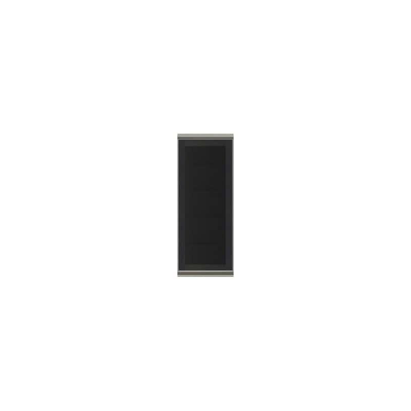 上台(ガラス扉/左開き)SC−40KL Bブラックグレイン:《お客様の理想が詰まった食器棚「SCシリーズ」》