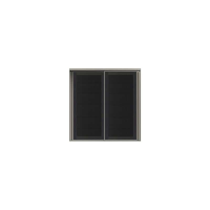 上台(ガラス扉/大引戸)SC−100K Bブラックグレイン:《お客様の理想が詰まった食器棚「SCシリーズ」》