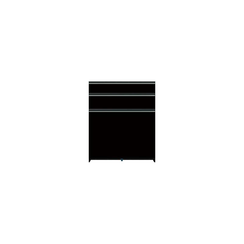 下台(3段引出)SC−83 Bブラックグレイン:《お客様の理想が詰まった食器棚「SCシリーズ」》