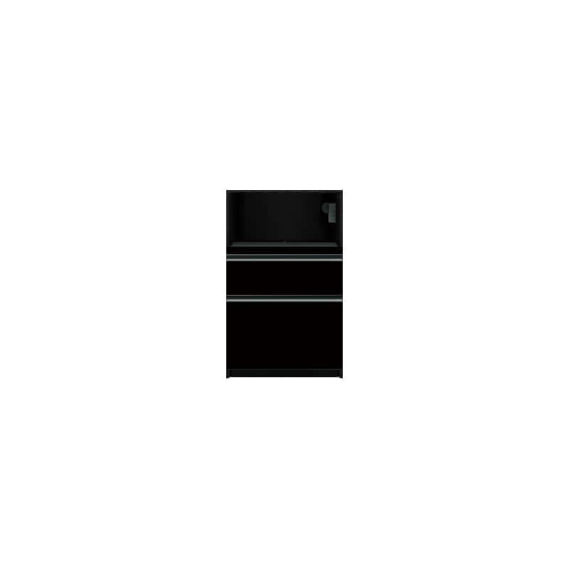 下台(家電収納)SC−61 Bブラックグレイン:《お客様の理想が詰まった食器棚「SCシリーズ」》