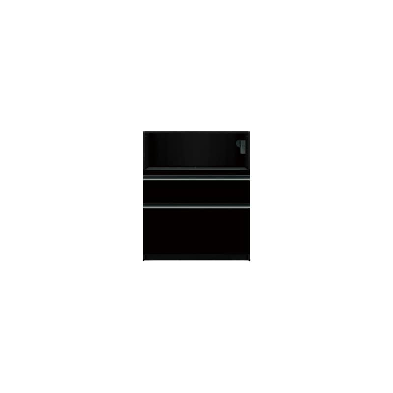 下台(家電収納)SC−81 Bブラックグレイン:《お客様の理想が詰まった食器棚「SCシリーズ」》