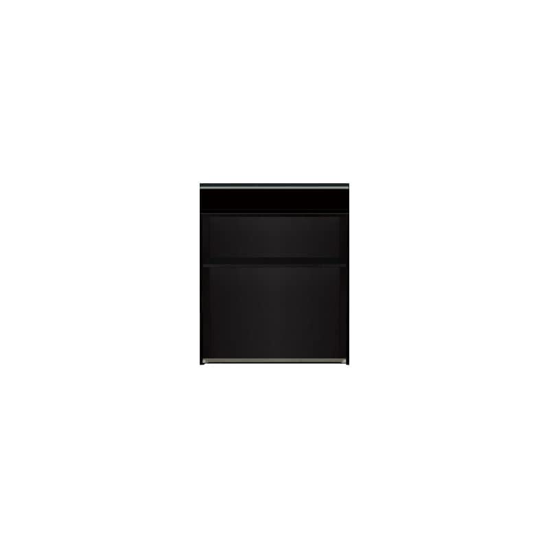 下台(オープンスペース)SC−82 Bブラックグレイン:《お客様の理想が詰まった食器棚「SCシリーズ」》