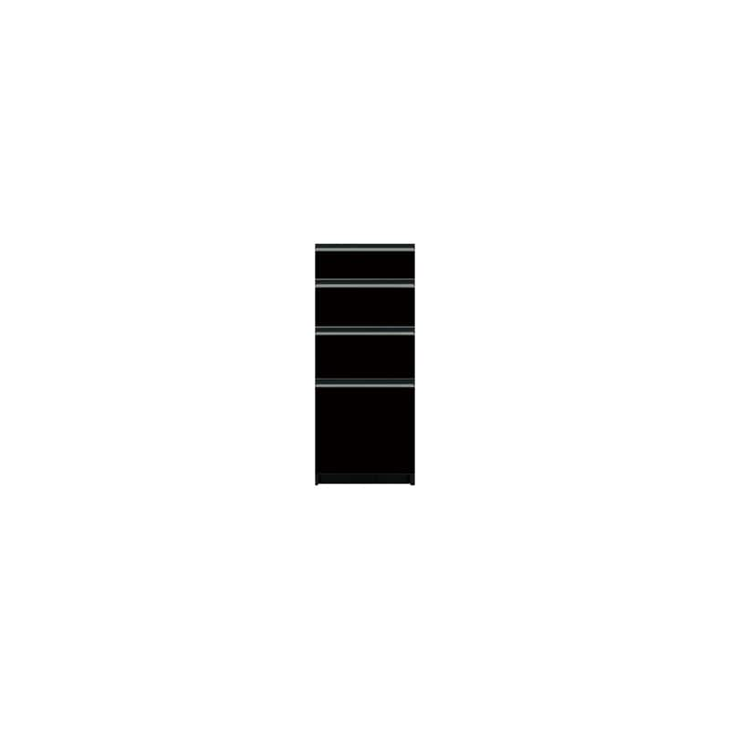 下台(4段引出)SC−S40 Bブラックグレイン:《お客様の理想が詰まった食器棚「SCシリーズ」》