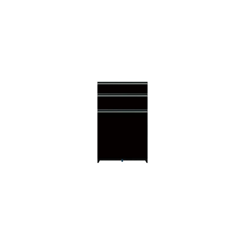 下台(3段引出)SC−S63 Bブラックグレイン:《お客様の理想が詰まった食器棚「SCシリーズ」》