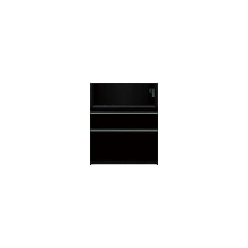 下台(家電収納)SC−S81 Bブラックグレイン:《お客様の理想が詰まった食器棚「SCシリーズ」》