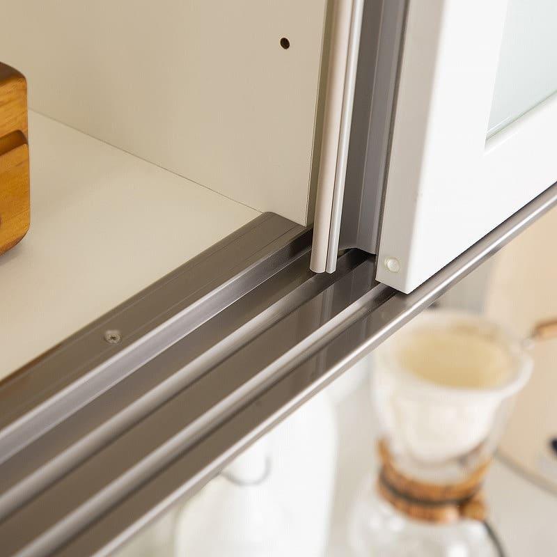 カウンター MO−900R下台 (C カカオチェリー):アルミレールを使うことで耐久性UP