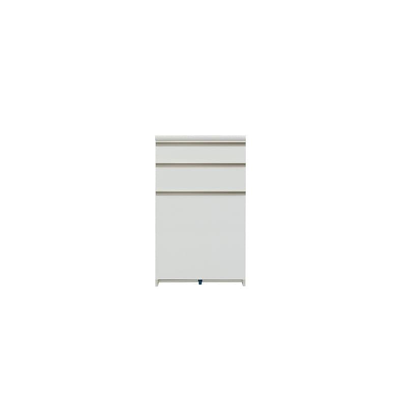 カウンター プレーミエ QG−600 共通下台 Wパールホワイト:シマホ×パモウナの共同開発商品