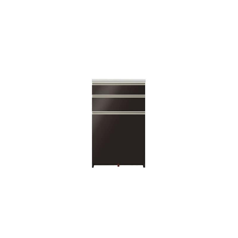 カウンター プレーミエ QG−600 共通下台 Bブラックグレイン:シマホ×パモウナの共同開発商品