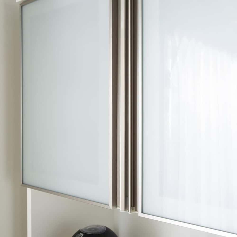 ダイニングボードエブリー 120 KB WH:フィルム張りガラス