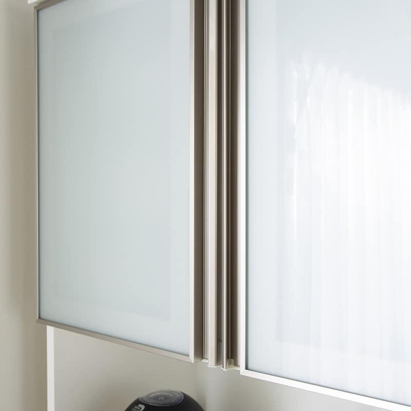 ダイニングボードエブリー 80 KB BK:フィルム張りガラス