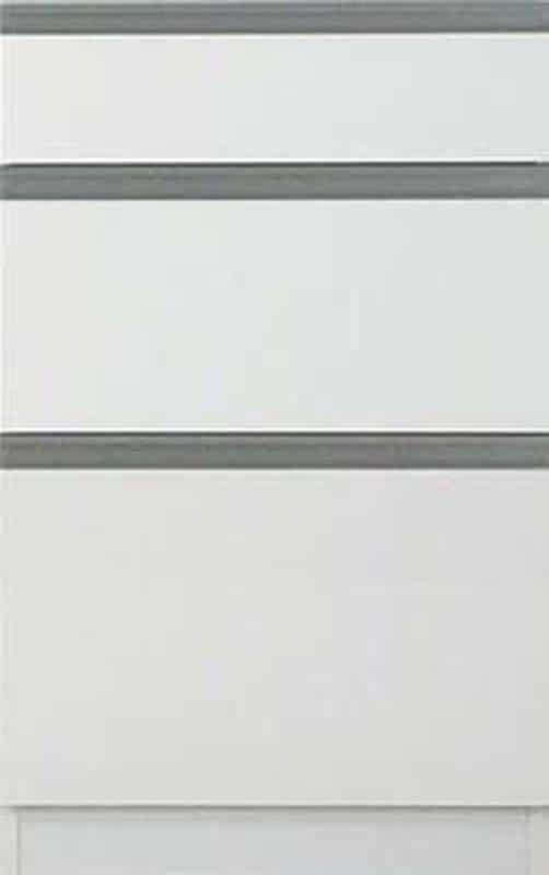 【下台】EXセレクト50引出し ホワイト:《ユニッ式トダイニングボード「EX SELECT」》