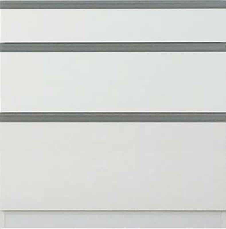 【下台】EXセレクト80引出し ホワイト:《ユニッ式トダイニングボード「EX SELECT」》
