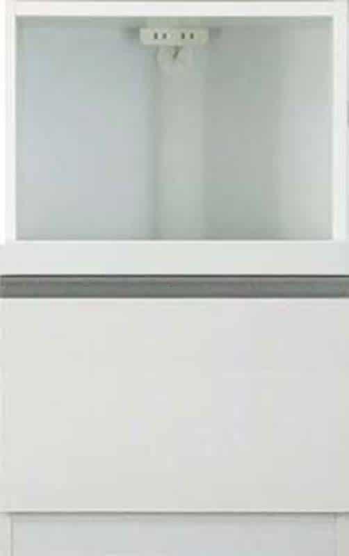 【下台】EXセレクト S(奥行45cm)50KB ホワイト:《ユニッ式トダイニングボード「EX SELECT」》