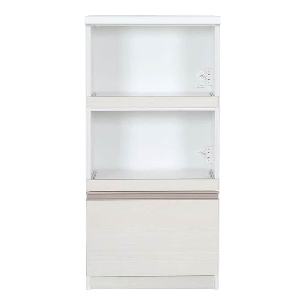 レンジ台 カシュー60(W):この1台で家電・食器をひとつに収納♪