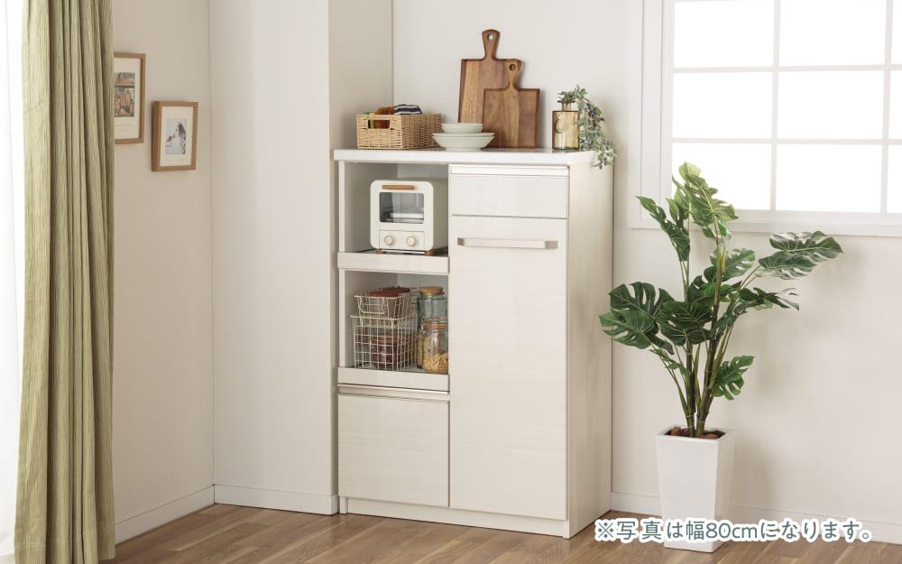 :この1台で家電・食器をひとつに収納♪