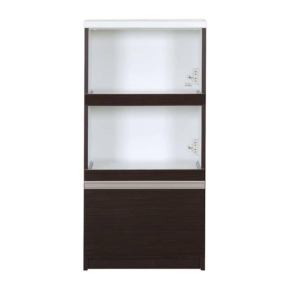 レンジ台 カシュー60(D):この1台で家電・食器をひとつに収納♪