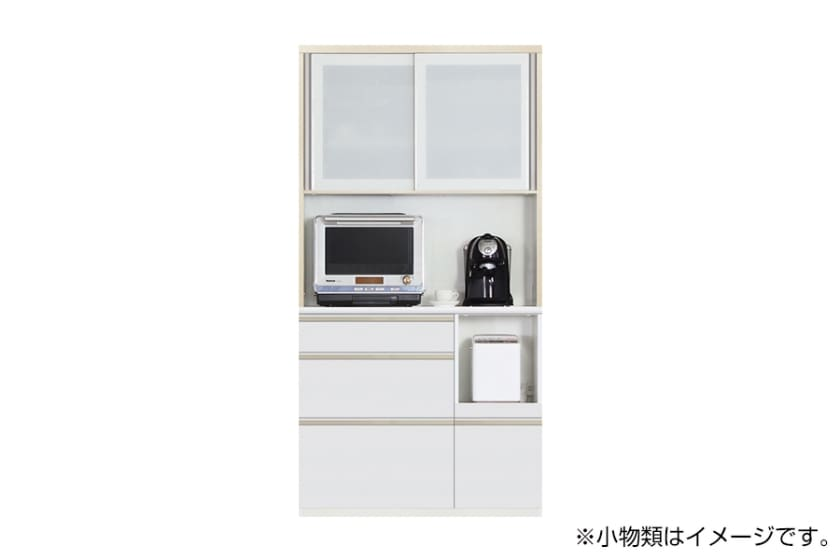 食器棚 サイゼスト 105 ※奥行49cm(ホワイト)