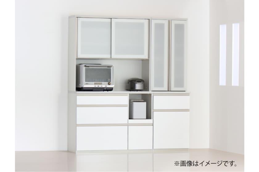 食器棚 サイゼスト 120 (ホワイト)